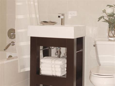 Bathroom Vanities For Small Spaces small bathroom vanities hgtv