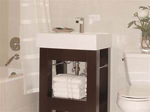 Small bathroom vanities hgtv for Best place to buy bathroom vanities