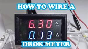 Schwebetürenschrank 3 Meter : drok led 100v dc 10amp meter how to wire eye on stuff youtube ~ Eleganceandgraceweddings.com Haus und Dekorationen