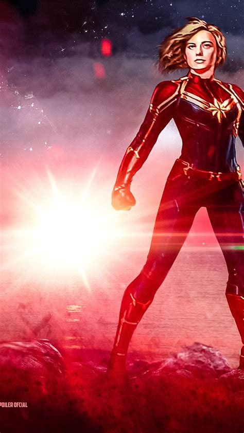 Hd Wallpaper For Mobile Marvel by Mobile Wallpapers Captain Marvel 2019 3d Iphone Wallpaper