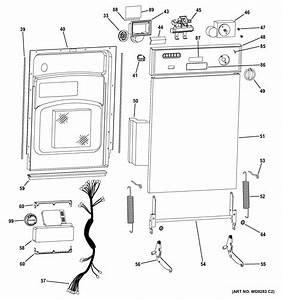 Ge Gsm1800n00bb Dishwasher Parts