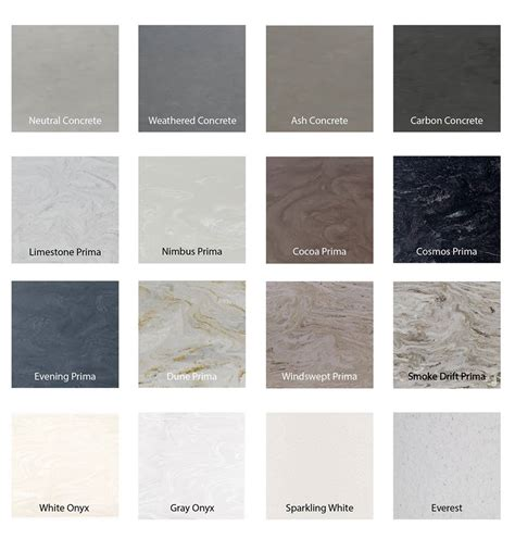 Corian Countertops Colors by New Corian Colors Countersync