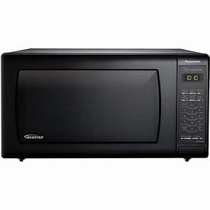 Panasonic 1 6 Cu  Ft  Countertop Microwave Oven With