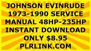 Johnson Outboard Motor Torque Specs