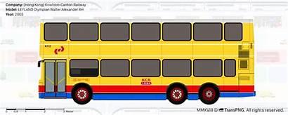 Transpng Bus Views Canton Kowloon Railway Citybus