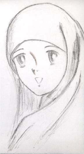 gambar anime muslim hitam putih 301 moved permanently