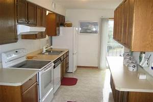 Small, Galley, Kitchen, Floor, Plans