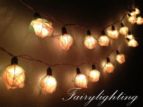 string lights 35 white color floral