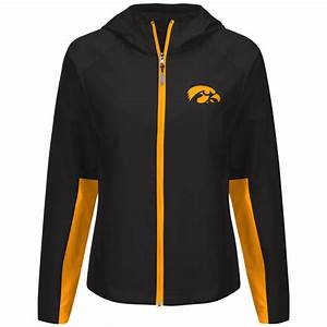 Iowa Hawkeyes Women39s Full Zip Light Weight Jacket