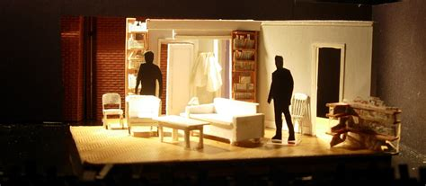 designing  world   single small space stage directions