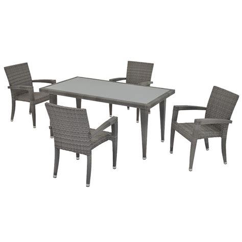 neilina gray 5 patio set el dorado furniture