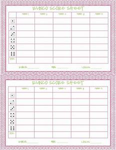 cute bunco score sheets printable driverlayer search engine With free bunco scorecard template