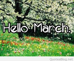 March April Quotes Welcome. QuotesGram