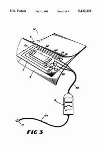 Patent Us5432322 - Electric Heating Pad