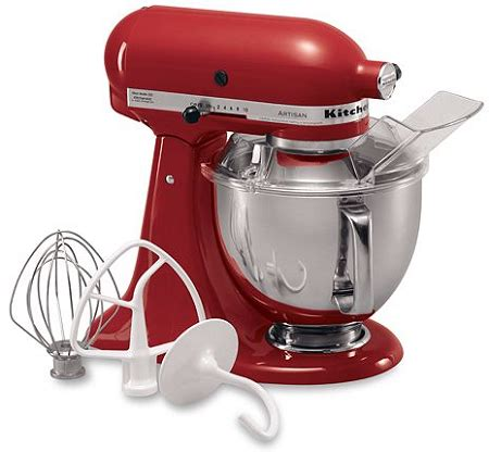 Kitchenaid Attachments At Kohl S by Kohl S Kitchenaid Ksm150ps Artisan 5 Qt Stand Mixer