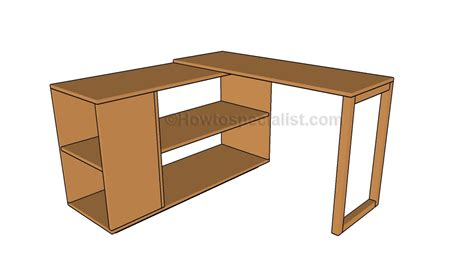 how to build a corner desk corner desk plans howtospecialist how to build step