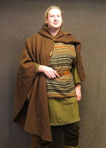 anglo saxon mens costume   history   making