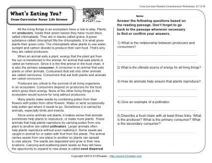comprehension worksheets year 7 australia them