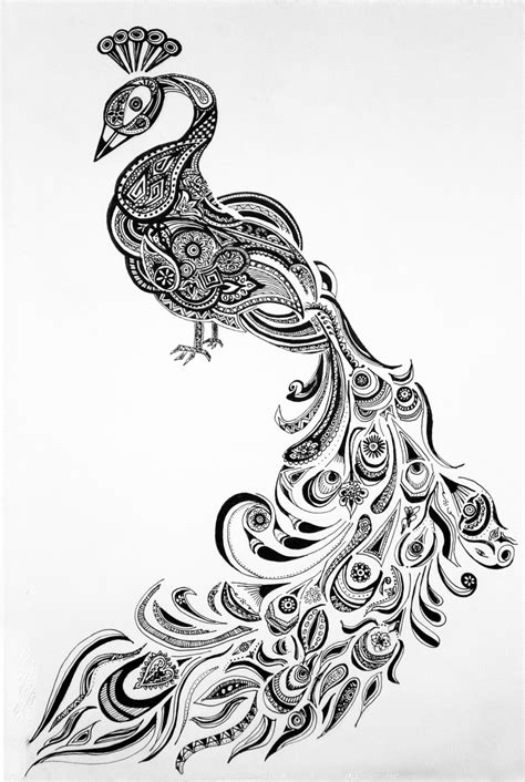 Image result for peacock henna | Henna peacock, Peacock drawing, Henna drawings