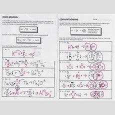 Covalent Bonding Worksheet Homeschooldressagecom