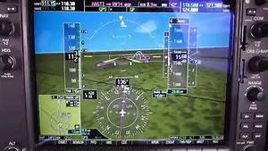 Rnav Approach At Lincoln  Lnk   Ne With Garmin G1000  Pa