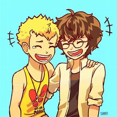 Persona Ryuji Akira Ship Happy Anime Hour