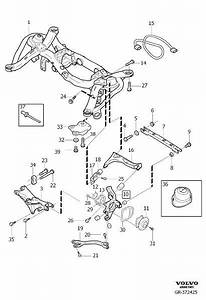 Volvo Xc90 Link Arm  Control Arm  Lower
