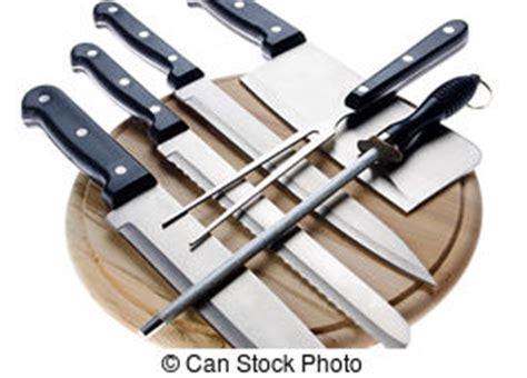 ensemble couteaux cuisine fourchettes ensemble couteaux isolé photographies de