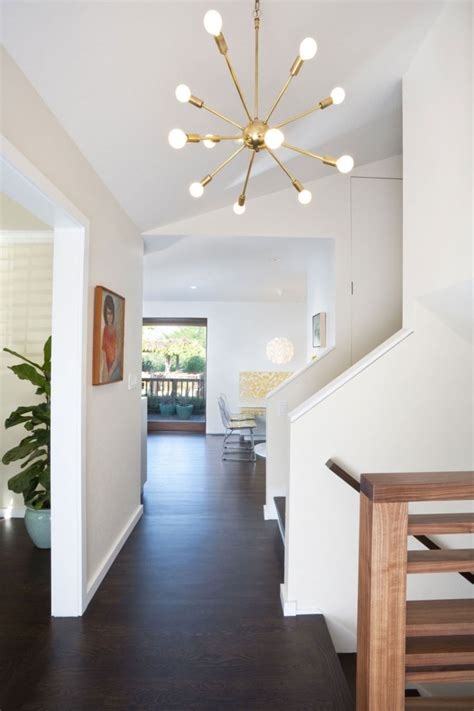 modern pendant lights used in moraga residence above the