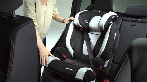 recaro monza 2 seatfix comment installer le siège