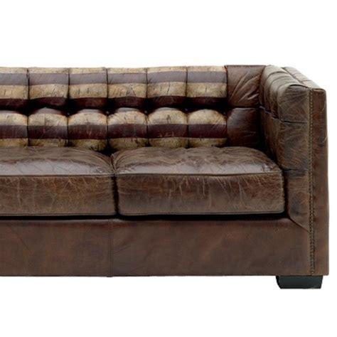 canapé rouen salon cuir deux ton rouen design