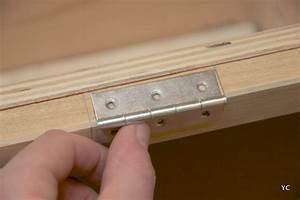 Comment Poser Une Charnière Plate : a faire soi m me fabriquer un coffre jouets une ~ Dailycaller-alerts.com Idées de Décoration