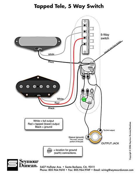 5 Way Fender Switch Wiring Diagram by Three Cool Alternate Wiring Schemes For Telecaster