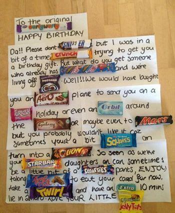 pic irish dad receives     birthday cards