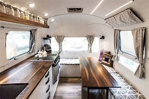 Peanut Airstream Land Yacht Renovation By Sitka Concept