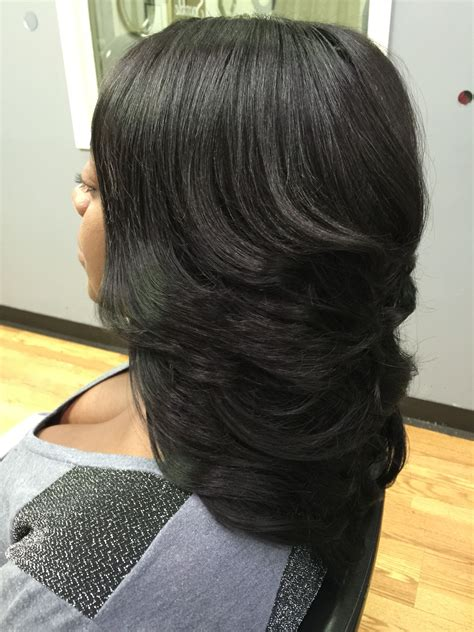 Layered Sew In Weave Hairstyles by Layered Weave My Work Weave