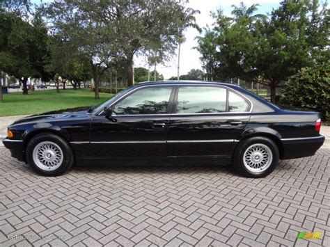 1998 Bmw 740il by Black Ii 1998 Bmw 7 Series 740il Sedan Exterior Photo