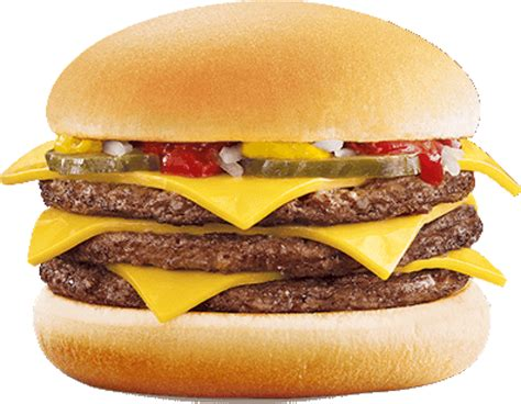 Mcdonald's Lance Le Triple Cheeseburger