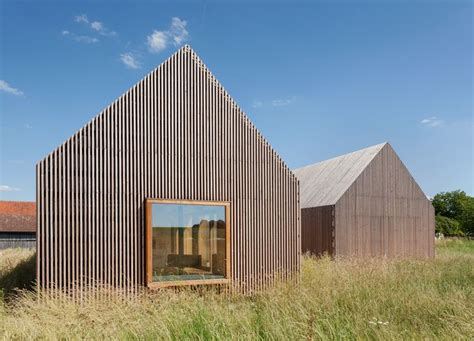 wohnhaus aus holz k 252 hnlein architektur wohnhaus aus holz architektur fassade architectuur