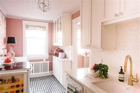 pink tiles kitchen designer and stylist tickled pink with kitchen renovation 1504