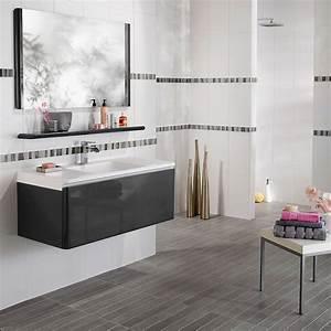 lapeyre decouvrez les nouveautes salle de bain glossy de With salle de bain gris anthracite