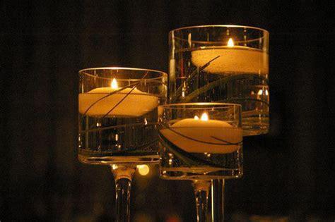 monet vases aka  long stem floating candle holders