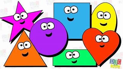 Shapes Clipart Children Clip Shape Fun Preschool