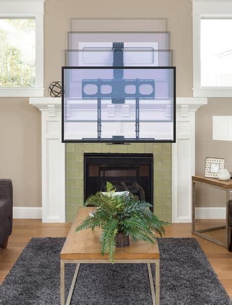 mantelmount mm enhanced  fireplace pull  tv mount