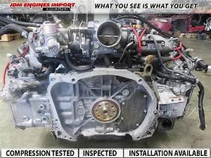 Subaru Engine Dohc Outback Forester 2 5l Ej25 Jdm Motor