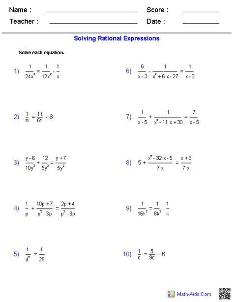math aids worksheets answers multiplying polynomials math