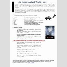 English Worksheets An Inconvenient Truth (movie