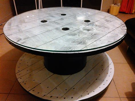 Customiser Une Table Basse Comment Customiser Un Touret En Table Basse By Sebricole 29 Sebricole
