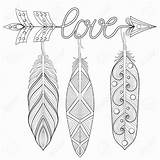 Arrow Drawing Feather Word Pages Feathers Words Hobby Lobby Coloring Rbg Books Adult Getdrawings Draw sketch template
