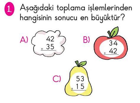 Testi Coez 2 S箟n箟f Matematik Toplama Testi 199 246 Z